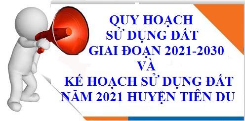 Kế hoạch sd đất 2021 - 2030