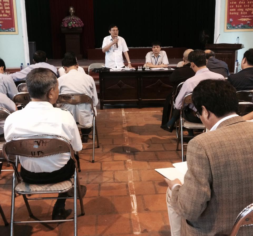 Thuận Thành họp BCĐ tổ chức lễ hội Chùa Dâu tại xã Thanh Khương.jpg