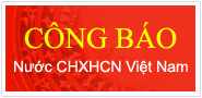 Công báo nước CHXHCN Việt Nam